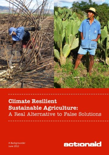 Climate Resilient Sustainable Agriculture - Pacific Disaster Net
