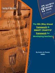 The WA (Way Ahead framework) & SMART CRAR 3FS2 framework ...