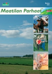 Maatilan Parhaat info 3 / 2005 - Snellman