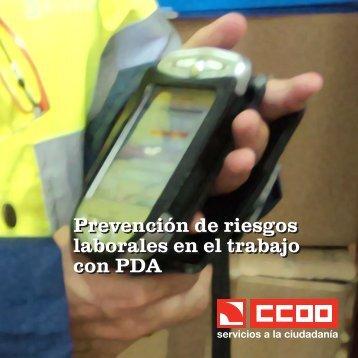 Prevención de riesgos laborales en el trabajo con PDA Prevención ...