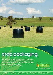 crop packaging - SCATS Countrystores