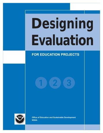 Designing Evaluation for Education Projects - National Extension ...