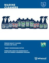 marine cleaners - Attwood