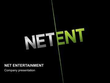 Mobile solution - Net Entertainment