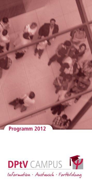 Programm 2012 - DPtV