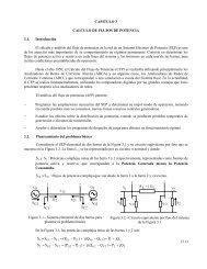 Page 1 CAPITULO 3 CALCULO DE FLUJOS DE POTENCIA 3.1 ...