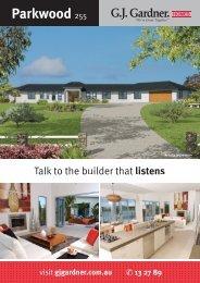 Parkwood 255 - G.J. Gardner Homes