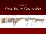 Lab 6: Cross Section Construction - Geophysics at Georgia Tech