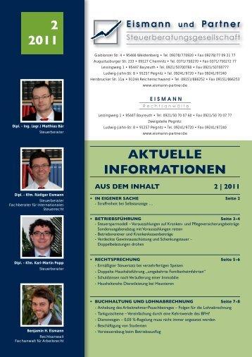 2-2011 PDF - EISMANN Rechtsanwälte