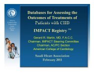 Databases for Assessing the Databases for Assessing the Outcomes ...