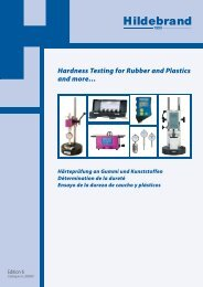 Hardness Testing for Rubber and Plastics and more… - Labomat