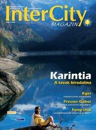 InterCity Magazin 2008/ősz