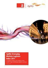 2011 Agility Emerging Markets Logistics Index