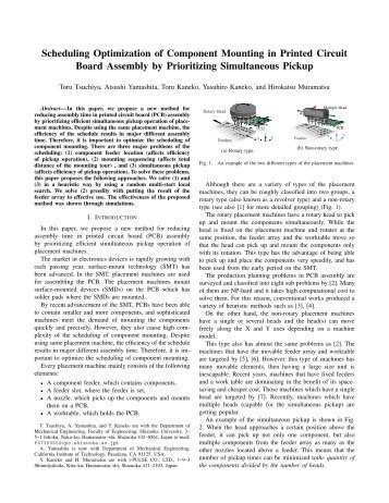 Scheduling Optimization of Component Mounting in Printed Circuit ...