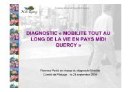 synthèse présentée en séance - Pays Midi-Quercy