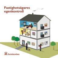 Fastighetsägares egenkontroll - Socialstyrelsen