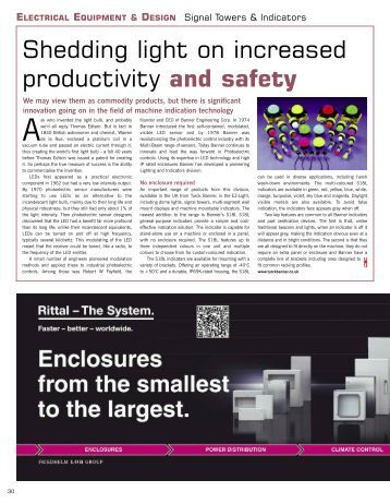 View advert- Page 30 - Industrial Technology Magazine