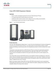 Cisco SPA 500S Expansion Module