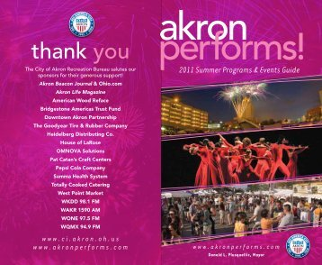 thank you - Akron Performs!