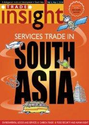 Vol.6, No.1, 2010 - South Asia Watch on Trade, Economics ...