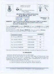 rinnovo contratto dei software gestionali - Comune di Futani