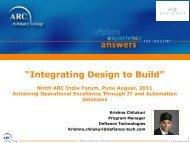 As-Designed - ARC Advisory Group