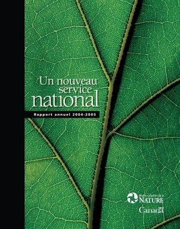 2004-2005 - Musée canadien de la nature
