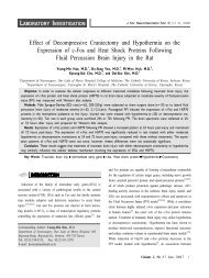 Effect of Decompressive Craniectomy and Hypothermia on the ...