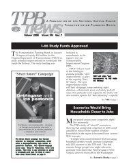 TPB News - February 2006 - Metropolitan Washington Council of ...