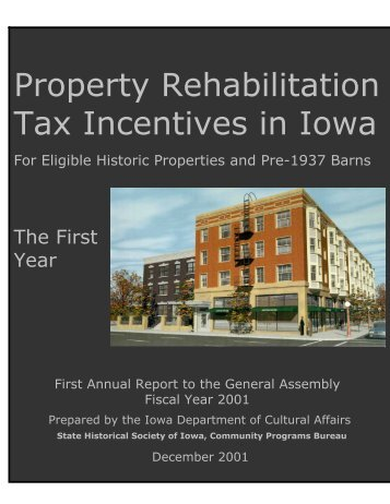 ECONOMIC IMPACT - State Historical Society of Iowa