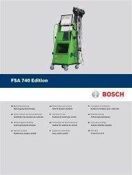 FSA 740 Edition