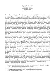 Abstract ricerca minori algerini - Sociale