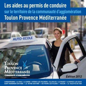 Guide pratique des aides au - Communauté d'Agglomération Toulon ...