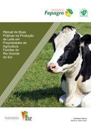 Manual de Boas Práticas na Produção de Leite em Propriedades de ...