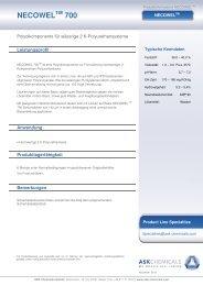 NECOWEL 700 - ASK Chemicals