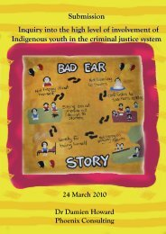 hearing loss and the criminal justice system - Australian Indigenous ...
