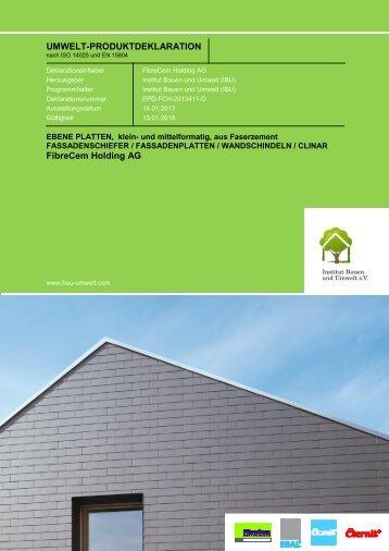 EPD Klein- und Mittelformat - Eternit