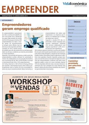 WORkshOP - Newsletter Incentivos - Vida Económica