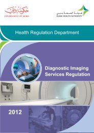 Diagnostic Imaging Services Regulation - Dubai Health Authority