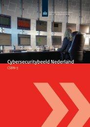 Rapport: Cyber Security Beeld Nederland 2013 - Nationaal ...