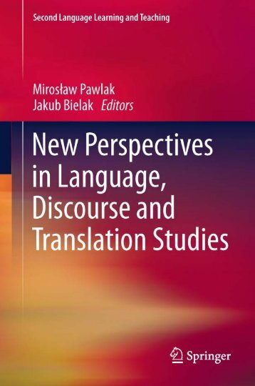 New Perspectives in Language, Discourse, and Translation Studies ...