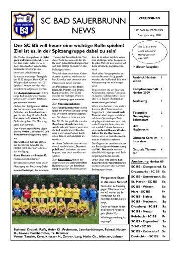 7.Ausgabe - SC Bad Sauerbrunn