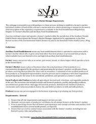Farmer's Market Manager Requirements - Southern Nevada Health ...