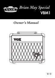 Owner's Manual - Brianmay.com