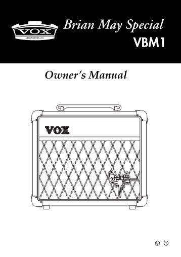 Owner's Manual - Brianmay.com