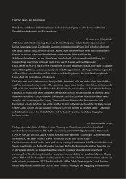 peter zadek und heiner müller kämpfen um die ... - Stephan Suschke