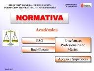 Diapositiva 1 - Departamento de Educación - Navarra