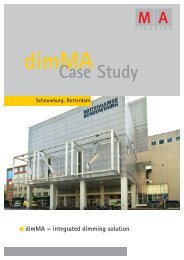 Case Study - MA Lighting