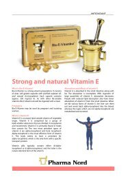 Get Bio-E-Vitamin infosheet - Pharma Nord
