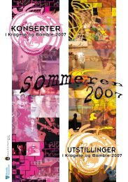 Sommerbrosjyre 2007 - Bamble kommune